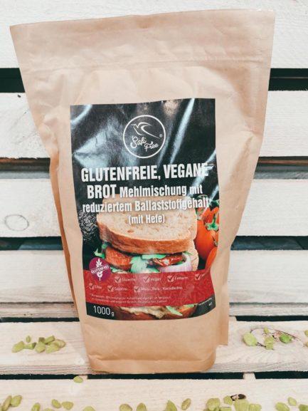 Glutenfreie vegane Brot Mehlmischung