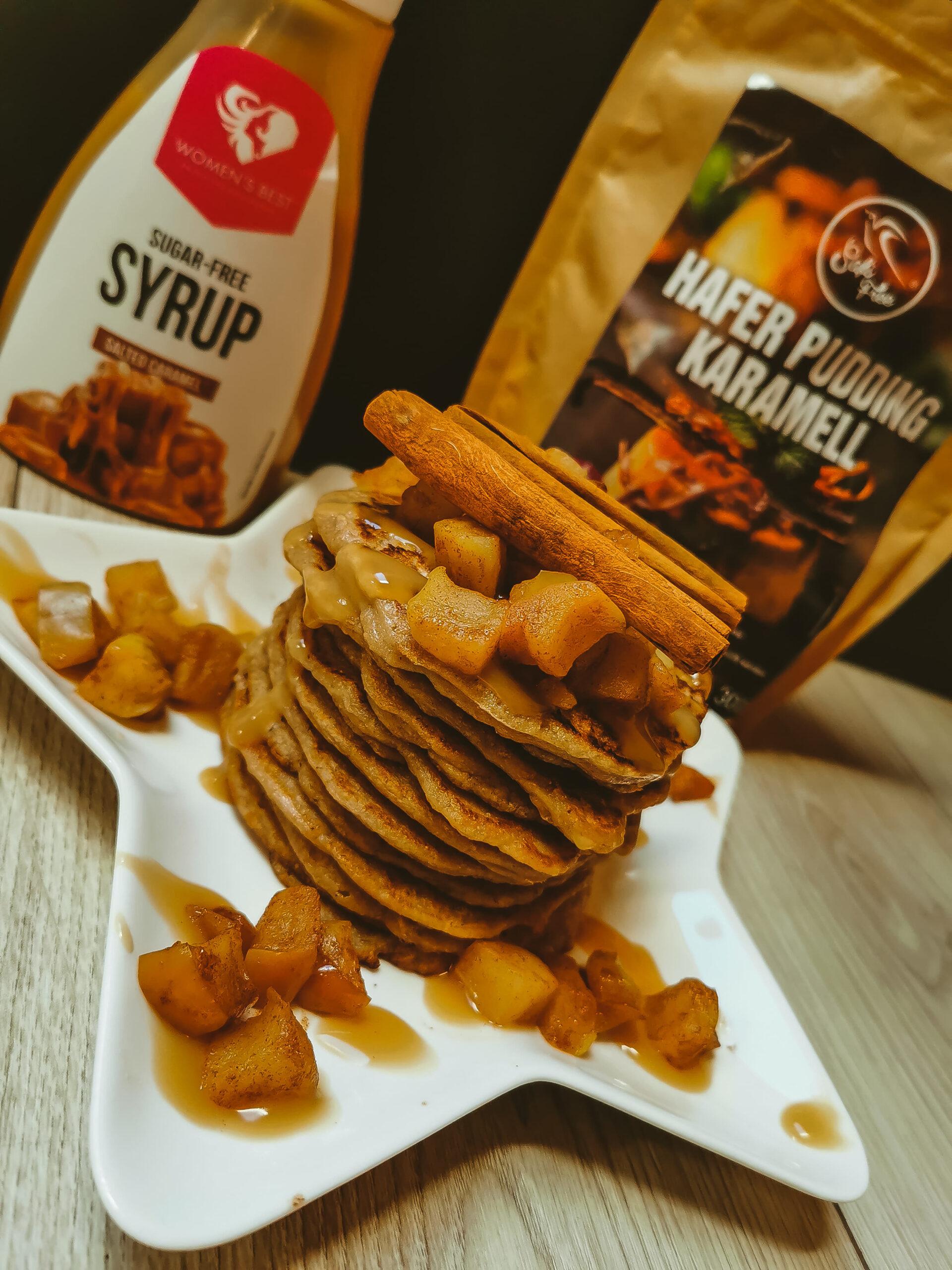 Karamell-Pfannkuchen (glutenfrei)