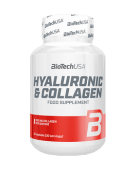 Hylauronic & Collagen 30 Tabl. – BiotechUSA