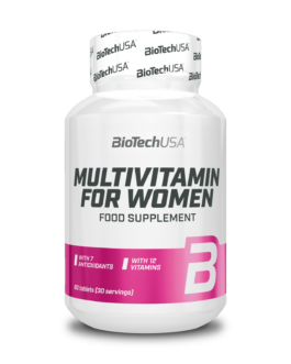 Multivitamin For Women 60 Tabl. – BiotechUSA