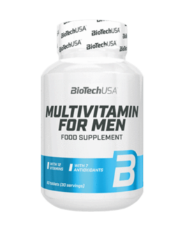 Multivitamin For Men 60 Tabl. – BiotechUSA